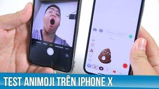 Test thử Animoji trên iPhone X