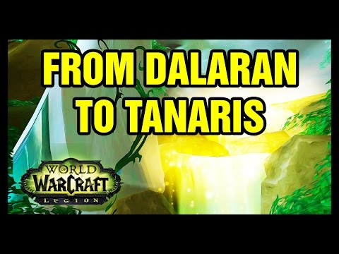 From Dalaran To Tanaris Legion