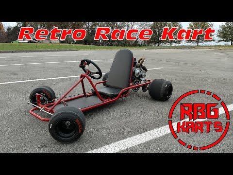 Vintage Racing Go Kart ~ Little Red 2.0 Go Kart Alley Frame Kit