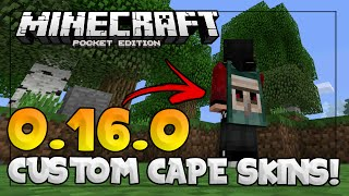 How To Get A Cape On MCPE 1 2 5 and above - PakVim net HD