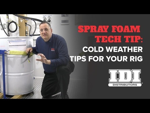 Cold Weather Spray Foam Insulation Application Temperature Tips