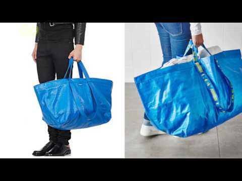 Balenciaga S New 2 145 Tote Looks Like Ikea 1 Ping Bag