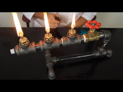 Steampunk Oil Lamp