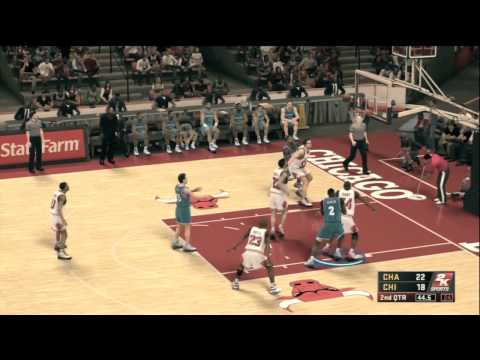 NBA 2k12 Gameplay Michael Jordan The Legend