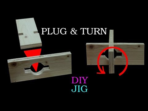 An unusual wood connection that no one knows and everyone immediately understands. - DIY JIG