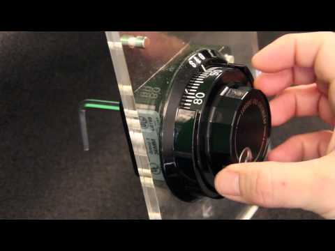 How to change the combination on the S&G Group 2 lock | Group II Sargent & Greenleaf | Open a safe