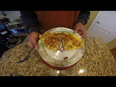 How-to cook a ham and cheese omelette