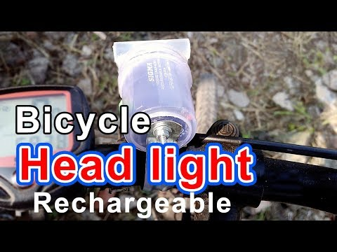 Rechargeable Head light for bicycle | How to make