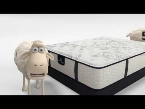 The Serta Counting Sheep in 'You're Not Helping'