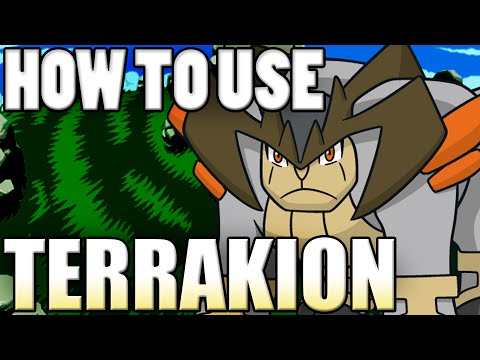Pokémon How To Use: Terrakion! Terrakion Moveset - Pokemon Omega Ruby and Alpha Sapphire / X&Y Guide