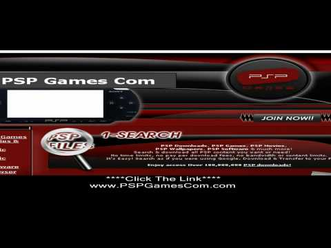 PSPGamesCom - PSPGamesCom Is A Website You Can Download All The PSP Games You Will Ever Want