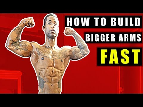 How To Get Big Arms - MUCH FASTER!!! (Triceps And Biceps)