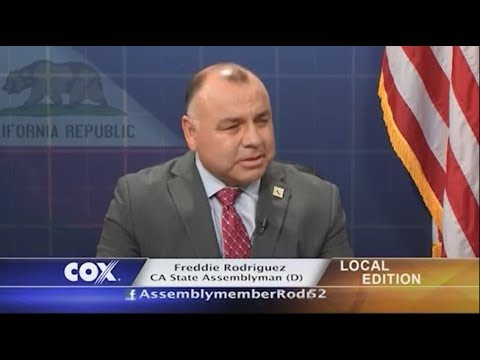 Charter-Cox Local Edition with CA State Assemblyman Freddie Rodriguez (D)