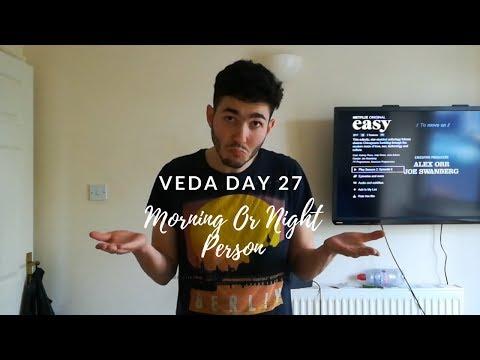 SSSVEDA 27 - Morning Or Night Person