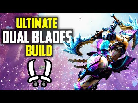 ✔️ BEST Dual Blades Build? ULTIMATE MH World Melee Damage Build! Monster Hunter World Tips