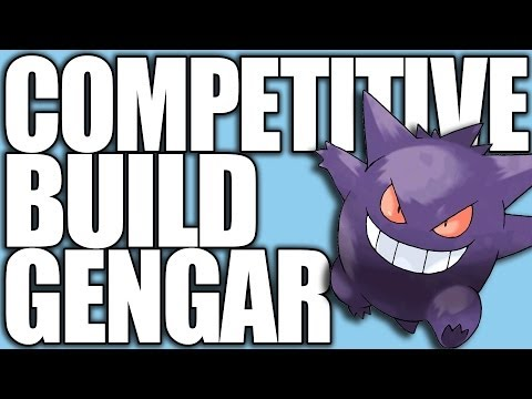 Pokemon XY: Competitive Builds 101 - Mega Gengar