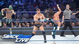 Dolph Ziggler & Kalisto vs. The Miz & Baron Corbin: SmackDown LIVE, Nov. 29, 2016
