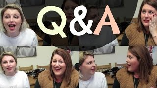 We filmed a Q&A several weeks ago, FINALLY its been uploaded... sorry volumes has consumed us on our regular channels.  Like us on Facebook for updates! https://www.facebook.com/styleontoast?ref=hl  You can follow us on twitter: @styleontoast and instagram: STYLEONTOASTCOM  For our individual channels/blogs check out these links:  Emma http://itsemchannel.blogspot.co.uk/ https://www.youtube.com/user/itsemchannel  Khila http://missbudgetbeauty.co.uk/ https://www.youtube.com/channel/UCxKZqdMKI3zJuVL6mLQTg0w