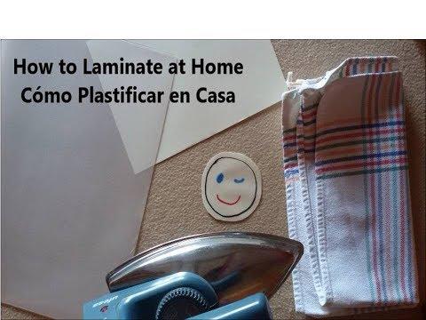#Laminate without a Laminator - Cómo Plastificar sin Plastificadora