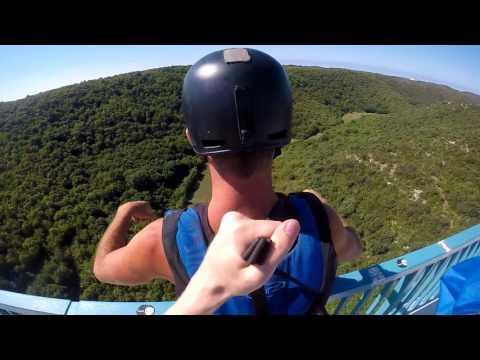 Base jumping Croatia 2017