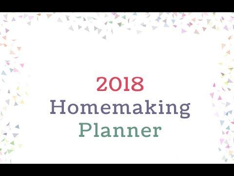 2018 Homemaking Planner