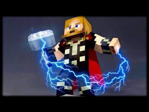 Minecraft PE | How to Make a Working Thor Hammer (No Mods or Addons)