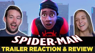 ANIMATED SPIDER-MAN: Into the Spider-Verse Official Trailer REACTION & REVIEW
