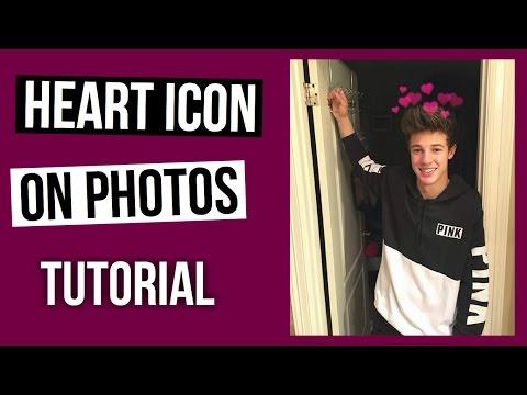 MACBOOK HEART EFFECT ON PHOTOS TUTORIAL