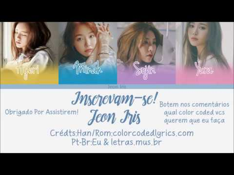 Girl's Day – Love Again – Han/Rom/Pt – Br Color Coded