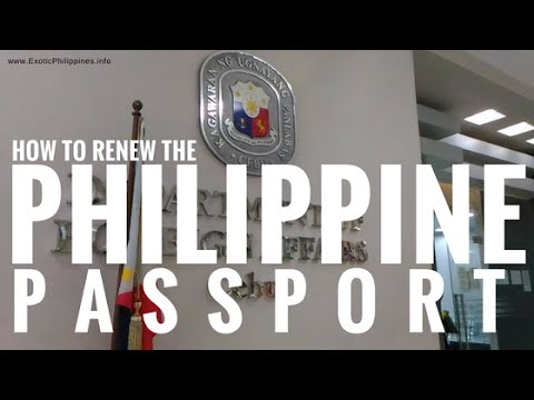 How to Renew the Philippine Passport? (DFA Cebu) - G Vlogs #34
