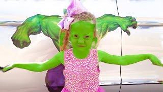 Настя и её папа - забавные истории про игрушки
