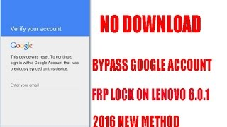 REMOVE GOOGLE ACCOUNT LENOVO PB1 - 750M Android 5 1 1 update