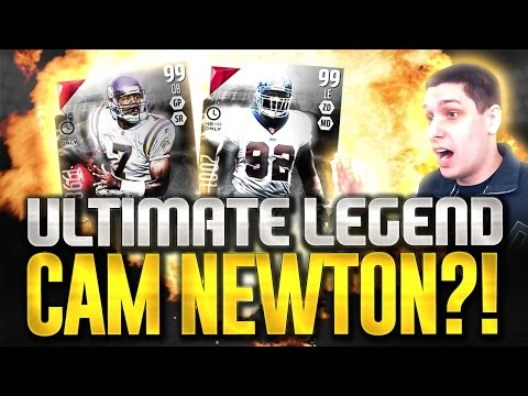 CAM NEWTON ULTIMATE LEGEND SCRAPPED BY EA? - MUT 16 Pack Opening for BOSS Cunningham & Strahan!
