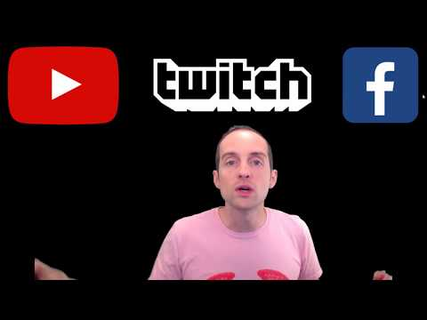 YouTube vs Facebook vs Twitch for Live Streaming to the Most Viewers?