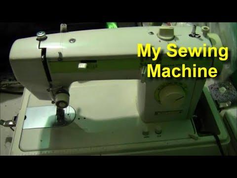 My Nelco Sewing Machine