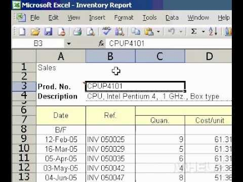 Microsoft Office Excel 2003 Turn on or off Insert Options