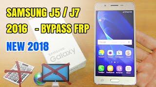 2018 Bypass Google Account Samsung J5(2016) SM-J510FN Nougat