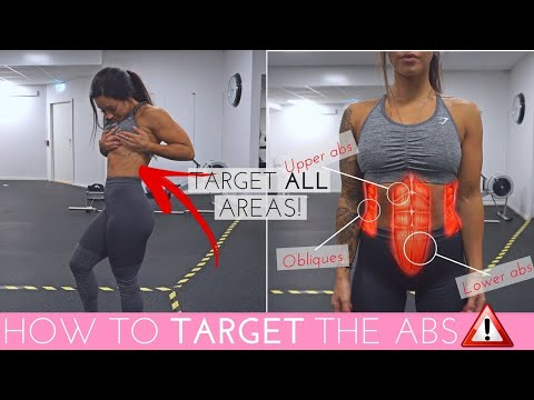HOW TO TARGET ALL AREAS OF THE ABS | EASY SIX-PACK & OBLIQUES WORKOUT