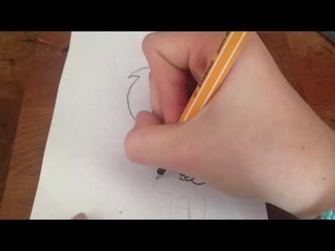 Drawing- Speed Drawing- The Crafty R