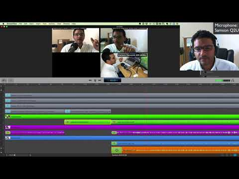 Creating Videos with multiple audio channels in Screenflow for Mac