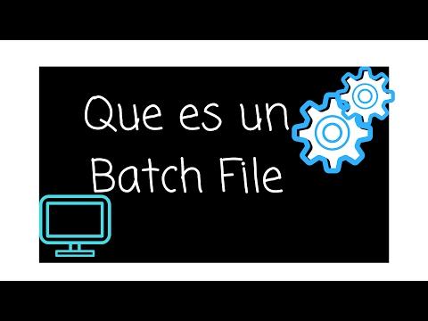 Batch File, CMD, comandos Basicos, generacion Log y variables