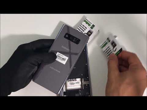 How to Remove the Samsung Galaxy Note 8 Back Glass Cover