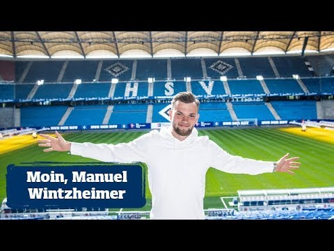 Willkommen in Hamburg! HSV verpflichtet Stürmer Manuel Wintzheimer