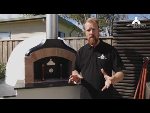 Lighting a fire in a Pizza Oven - The Fort Method