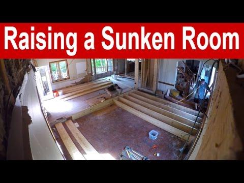 Raising a Sunken Room - Time Lapse