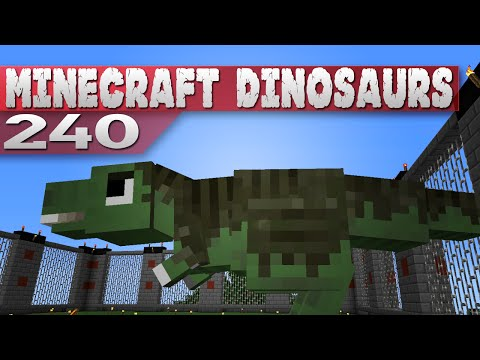 Minecraft Dinosaurs!    240    Feathers and Caving