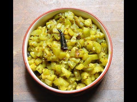 जीरा लौकी की सूखी सब्जी- Dry Bottle Gourd Sabzi