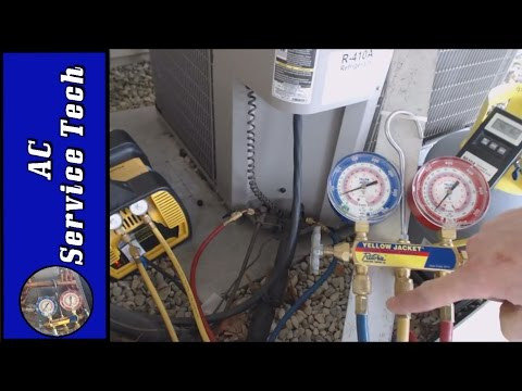 Refrigerant Recovery! Set up the Gauge Set, Hoses, Purge Air, and How much you can put in the Tank!