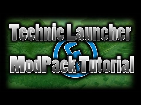 How to make a minecraft modpack for technic -