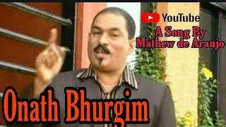 Mathew araujo's Konkani Song